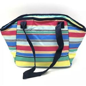 NEW 31 Lunch Break Thermal Tote Patio Pop Stripes